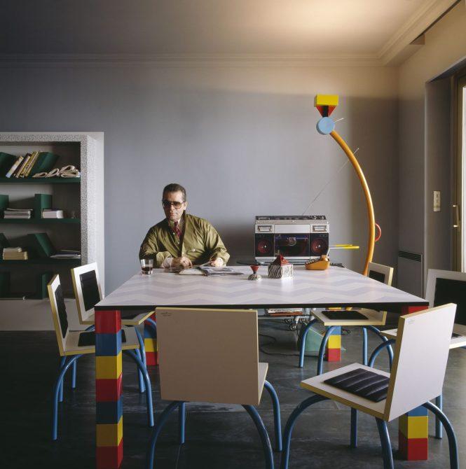 Karl Lagerfeld Memphis Apartment