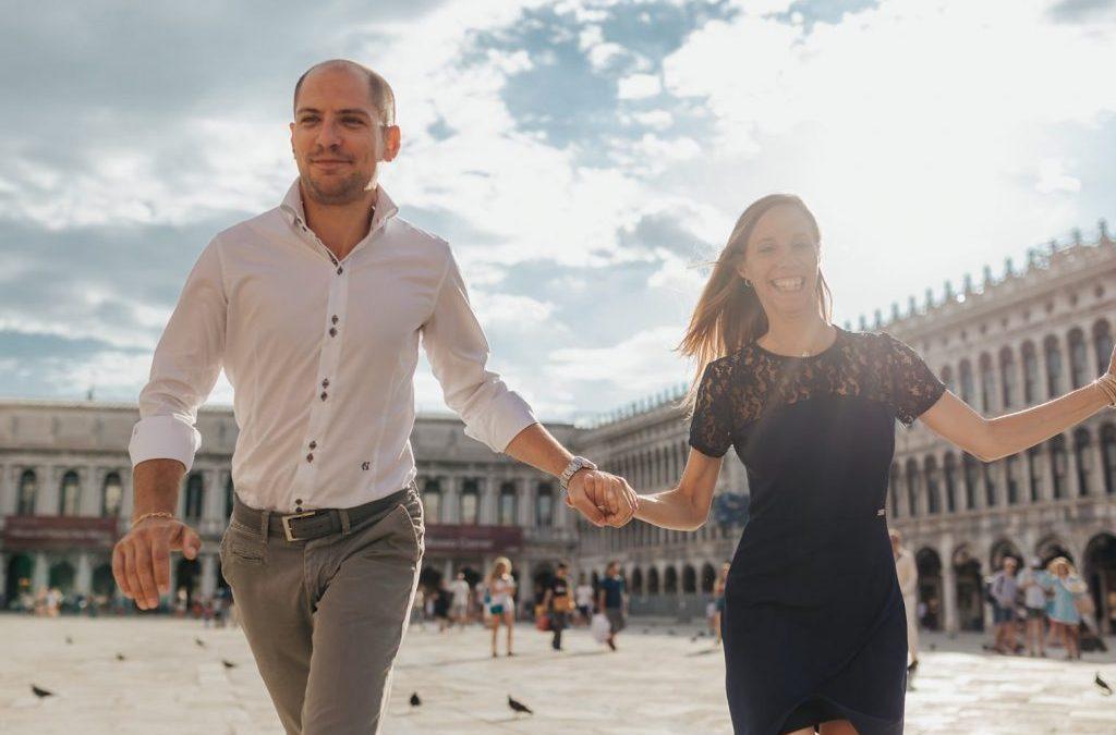 Michela e Riccardo – Servizio Fotografico Prematrimoniale a Venezia