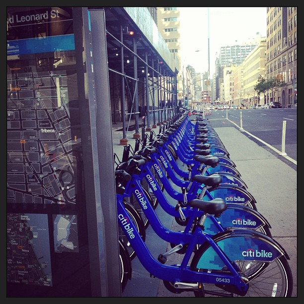 citi bike à new york
