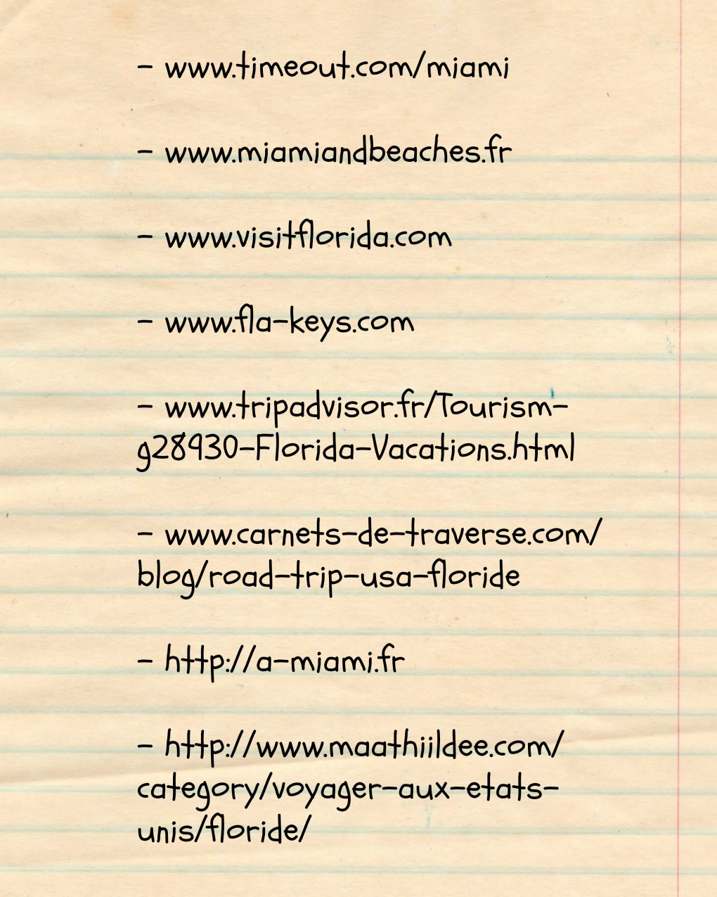 sites blogs floride