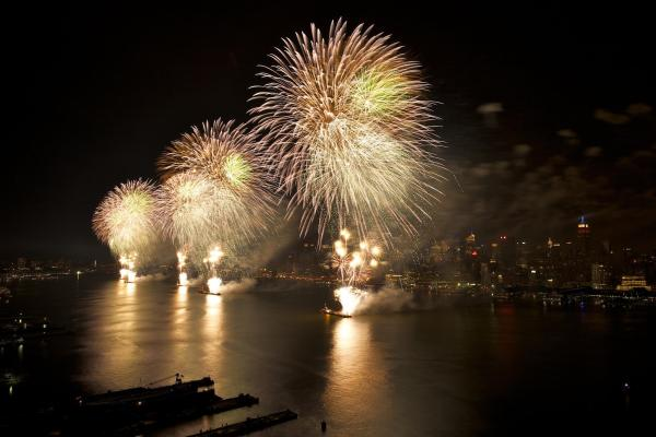 feu artifice 4 juillet new york