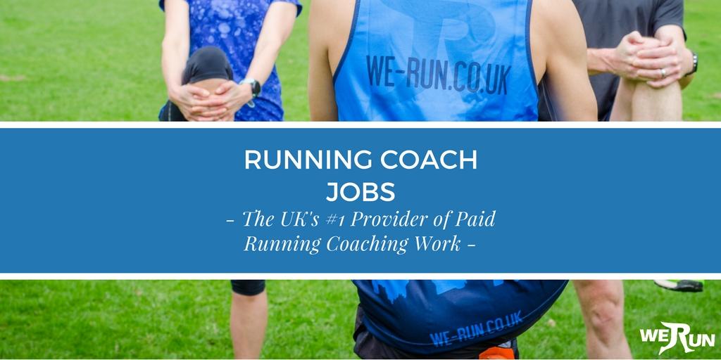 Running Coach Jobs - The UK's #1 Running Coaching Provider