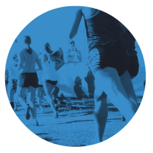 running fundamentals - runners in a circle