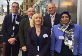 DWAC team at House of Commons