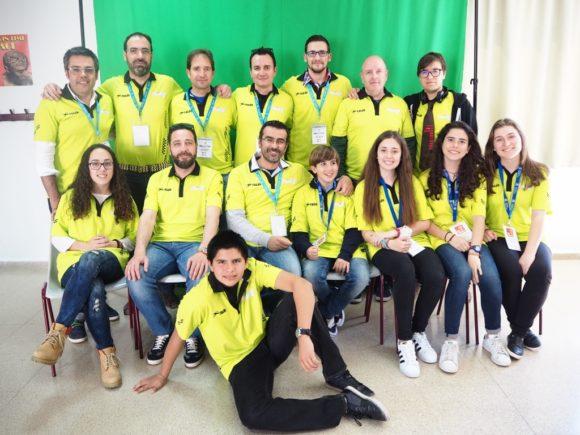 WeAlborán y el Equipo de Hack in the School