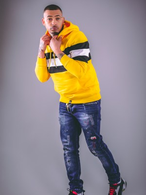men we all that hoodie yellow