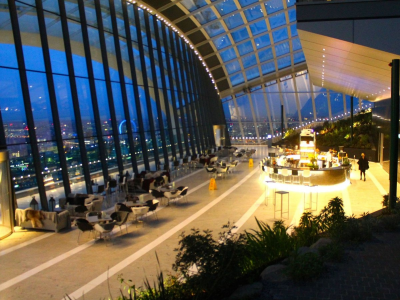 Take A Tour Of The New Sky Garden At The Top Of London's Infamous Walkie-Talkie Building
