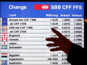 Why the foreign-exchange markets are still in turmoil + MORE