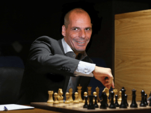 What Greek finance minister Yanis Varoufakis used to believe about 'game theory' and the 'incredible threat' to Europe