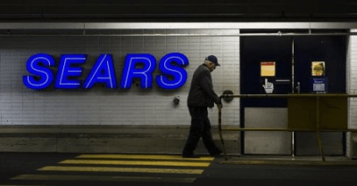 Sears reports smaller first-quarter loss but sales keep sliding