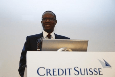 Hopes high for Thiam turnaround at Credit Suisse