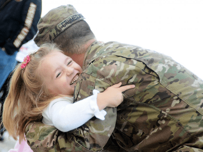 Military families have never been more confident about their financial future
