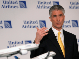 United Airlines' former CEO will get $4.9 million cash and free flights as severance — but he might have to give it all back (UAL)