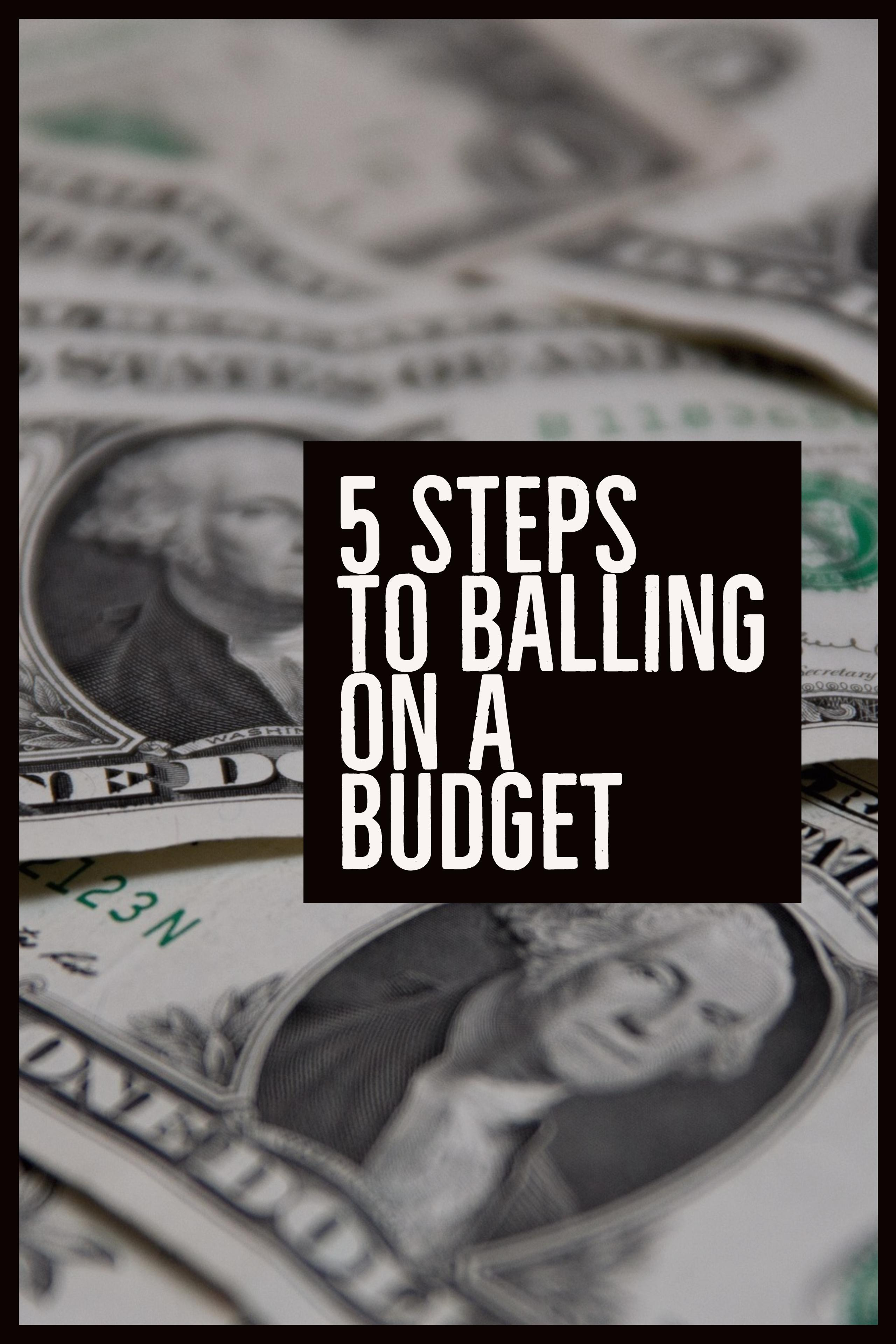 Read this post and more instantly by signing up for the Wealth Noir Preview, and get a chance to win an Amazon Gift Card. Sign up at wealthnoir.com.  My budget allows me to ball on the things I want without worry. It's easy and ensures I stay on track to build wealth. Learn the 5 steps to start balling. #wealthnoir #balling #havingthangs