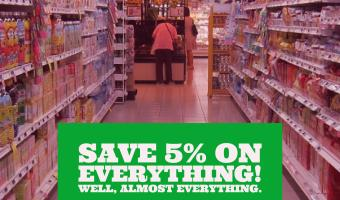 Save 5% on Everything! Well, Almost Everything.