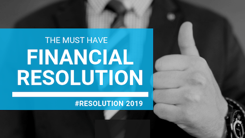 6 Financial Resolutions for 2019