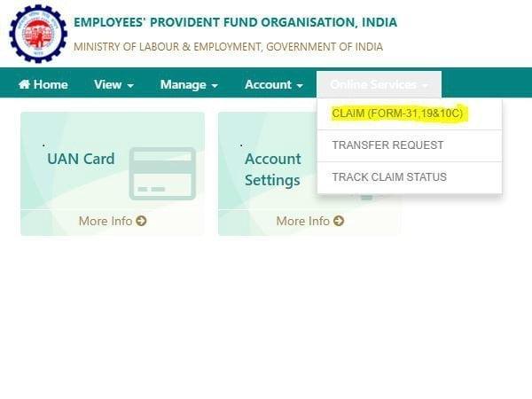 How to Check UAN Claim Status?