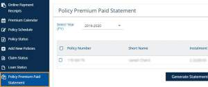 How to Download LIC Premium Payment Certificate?