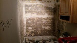 demolition shower