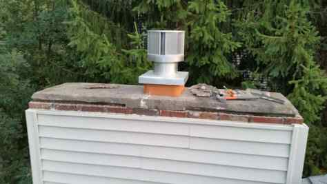 fix a chimney cap