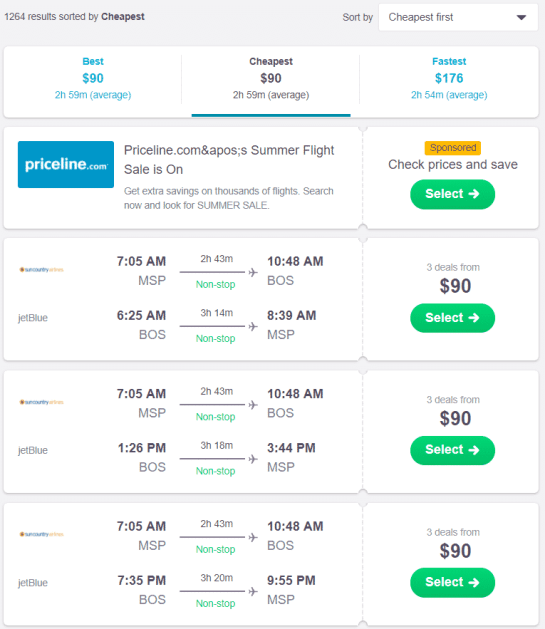 find cheap flights using skyscanner