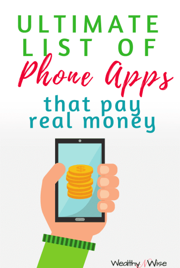 Do you have a smartphone? Get paid to use it! Here's a list of apps that pay cash.