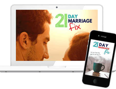 21 Day marriage Challenge - Free email series to get your marriage back on track