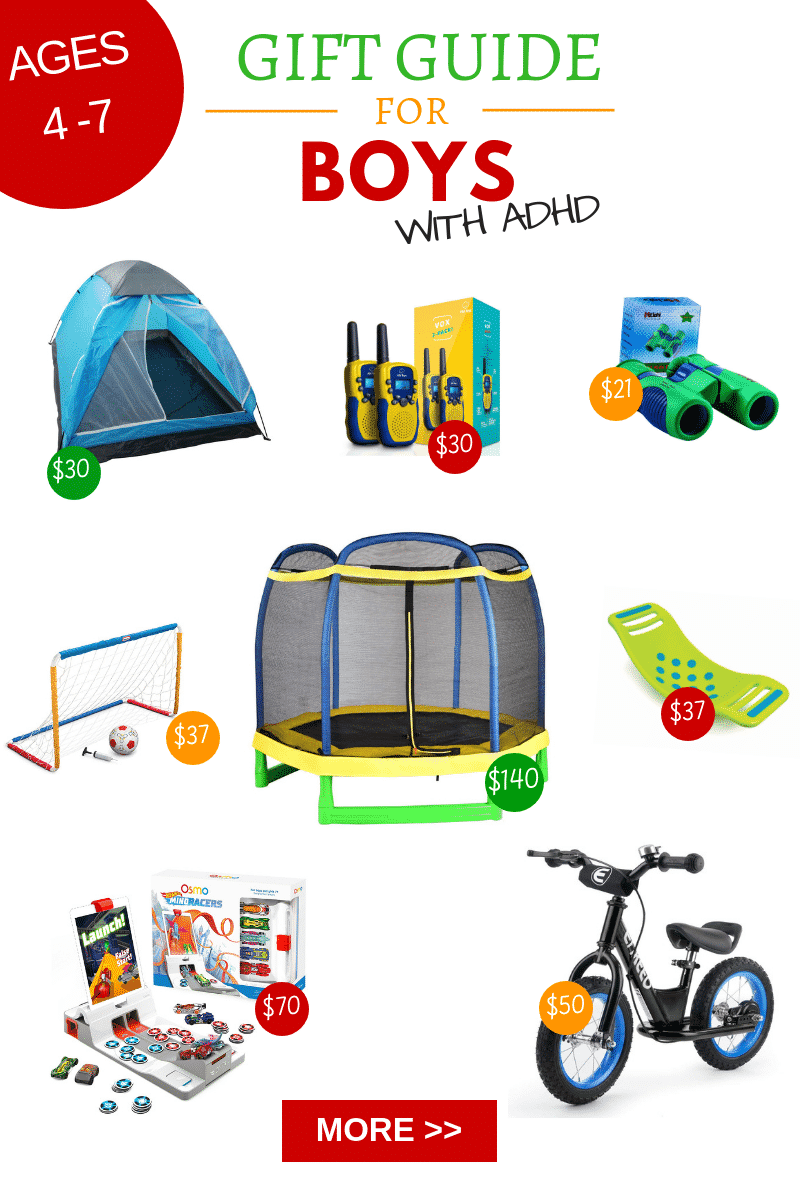 If you are looking for the best gifts for boys with ADHD look no further! These gifts are worth the money and will keep your little guy entertained and out of trouble!
