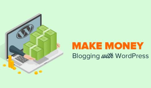 make money online bloging wordpress