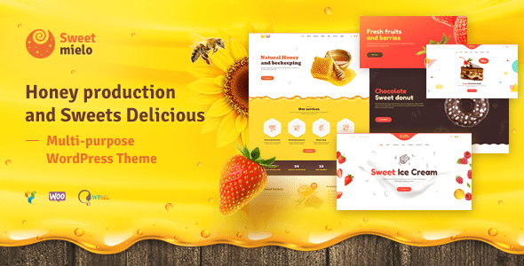 SweetMielo 1.6.7 - Honey Production and Sweets Delicious WordPress Theme - LatestNewsLive | Latest News Live | Find the all top headlines, breaking news for free online April 24, 2021