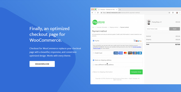 CheckoutWC 5.1.0 Nulled – Checkout for Woocommerce