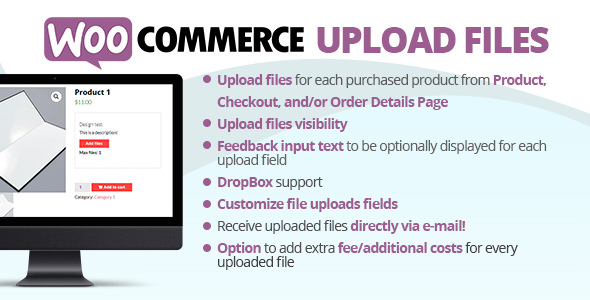 WooCommerce Upload Files 61.1 Nulled