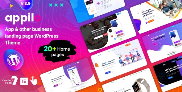 Appilo 5.9 Nulled – App Landing Page