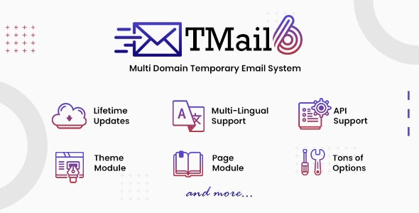 TMail 6.4 Nulled – Multi Domain Temporary Email System