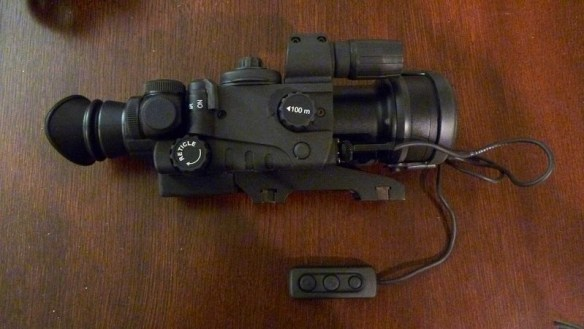 Sightmark Night Raider Night Vision 2.5x50 Riflescope