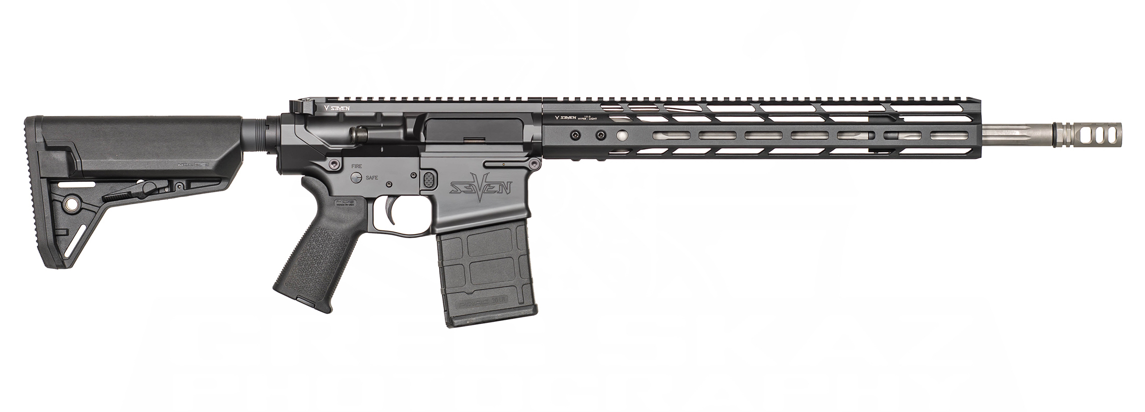 V Seven Weapon Systems  308 Magnesium Hyper-Light Handguards