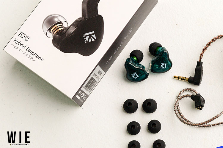 KBear KS2 box and accessories
