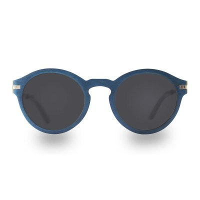 Wooden-sunglasses-WARAO-BLU-front