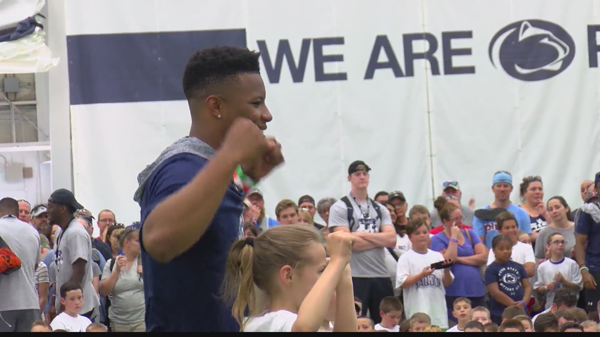 Saquon returns home to Happy Valley