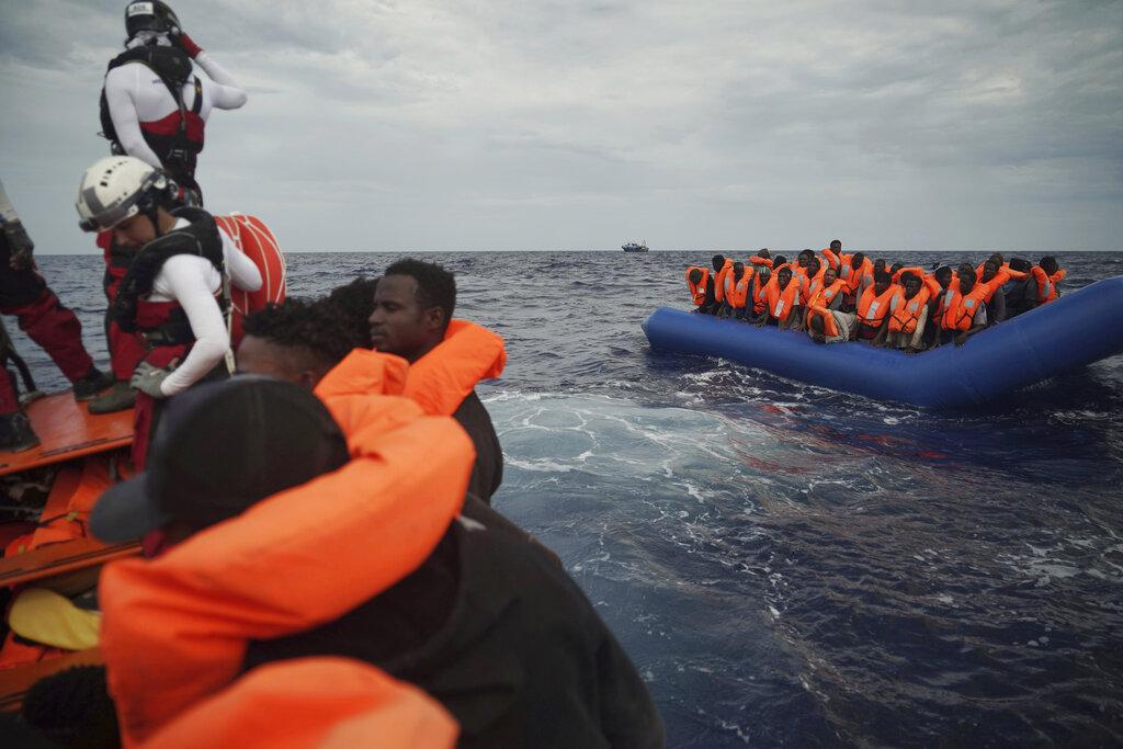 Charity ship rescues 50 African migrants in sea off Libya | WTAJ