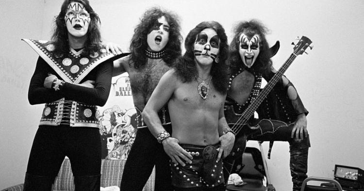 February 1974: KISS Releases Debut Album   Classic Rockers