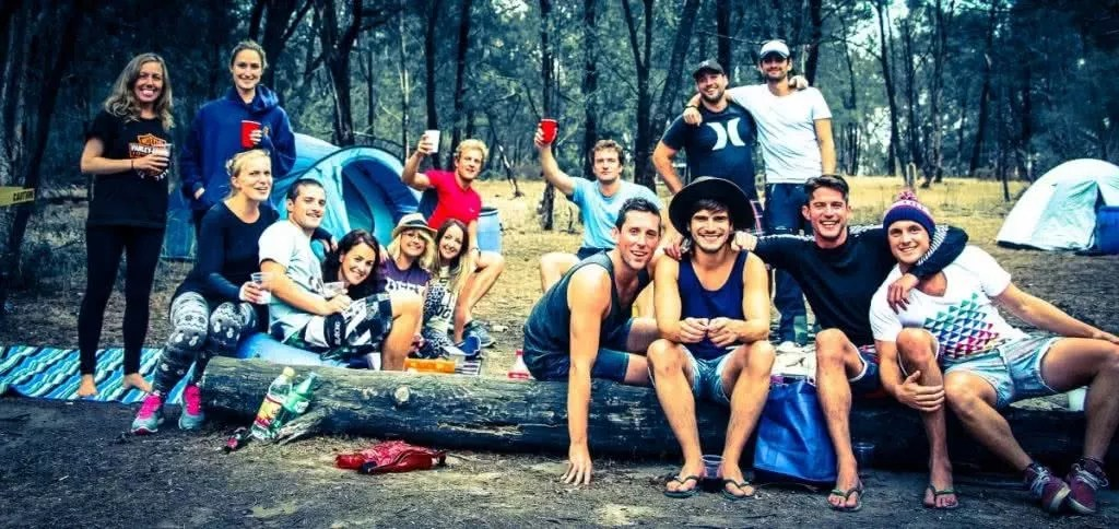 We Are Explorers Group Shot on the Kangaroo Valley Weekend