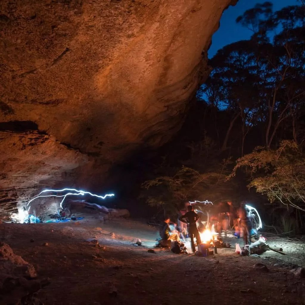 """Microadventures with @fluttrgrl 1/5 Cave camping in Kanangra-Boyd NP 
