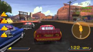 Cars PSP Gameplay