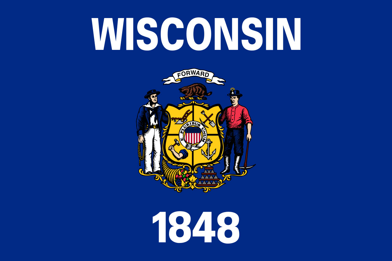 Wisconsin state flag55567981-159532