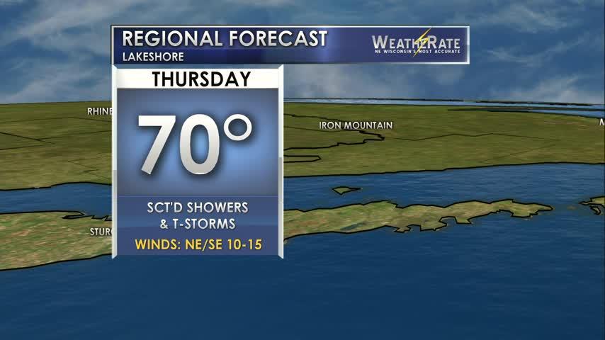 Regional Forecast Lakeshore 8-3