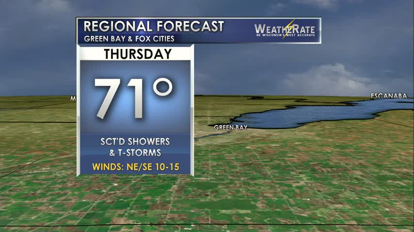 Regional Forecast Green Bay / Valley 8-3