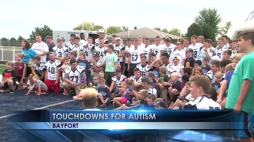 Touchdowns for Autism