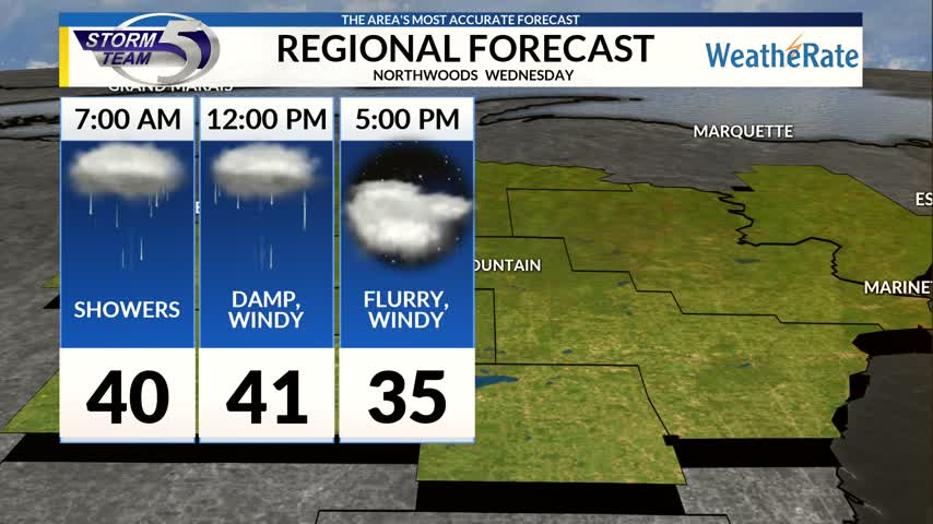 Regional Forecast Northwoods 11-15