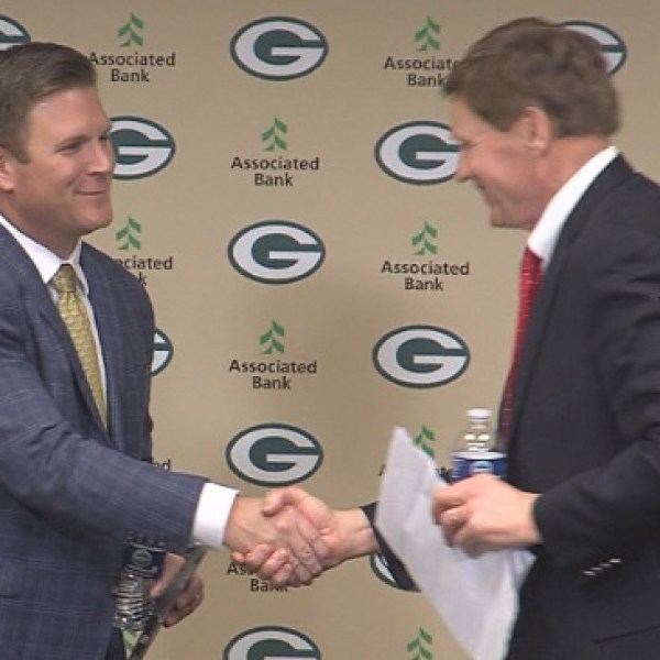 Brian Gutekunst introduced as new Packers GM